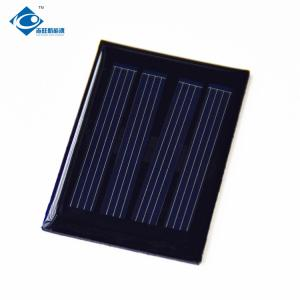 China 0.1W 2V Poly Silicon Mini Solar Panels for portable solar charger ZW-3450 Silicon Solar PV Module on sale