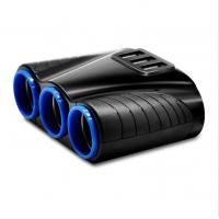 120W  Auto Sockets  Cigarette Lighter  5V 3.1A Output Power 3 USB  Splitter   Car mobile charger