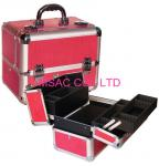 Professional Aluminum Pro Makeup Case PVC Lining 360 * 220 * 240mm Easy Cleaning