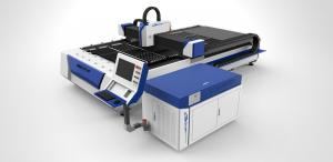 China Stainless Steel Fiber Laser Cutting Machine with Double Drive , Laser Power 1200watt on sale