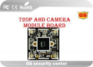 China Inter Synchronous Mode CCTV Board Camera Module C / CS Interface Lens on sale