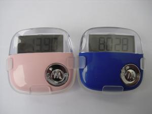 China DC1.5V Distance Calorie Counter Pedometer on sale