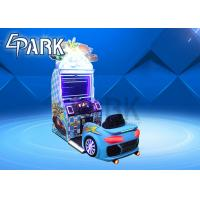 Reality Feeling Car Racing Game Simulator Machines With Camera Function Card System