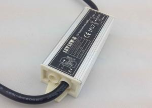 China 10 W AC TO DC LED Waterproof Power Supply , Metal Shell Flexible Strips Power Supply on sale