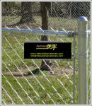 China chain link fence suppliers, black chain Link fence, Galvanized Chain Link Fence