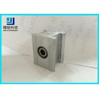 China Double Connector Aluminum Tubing fitting 6063-T5 Silvery Joints AL-6C on sale