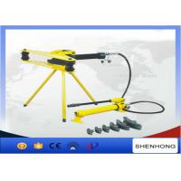 China Electric Hydraulic Pipe Bender Manual Pipe Bending Machine DWG-4D on sale