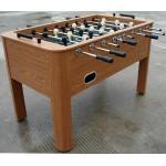 Jugador de acero del robot de Rod de partido de fútbol de la tabla de la laminación de madera del PVC para el club