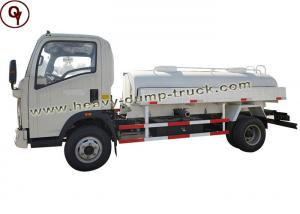 China 5 Cbm Capacity Oil Tanker Truck Fuel Oil Transportation Tank Trucks For Delivery on sale