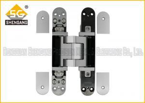 Quality Las bisagras de puerta resistentes ajustables inoxidables del acero 3D encubrieron 180 grados for sale