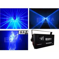 3w Blue Dj Laser Lights Projector , GalaxianLaserLight Stage Xmas Party Show