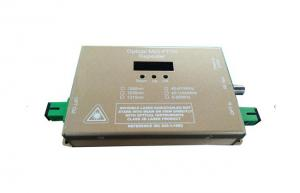 China Professional Mini Optical Transmitter With 12V/1A Power Adapter 47-1000MHz on sale