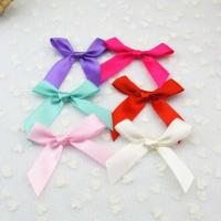 2014New Bowknot silk hairpin