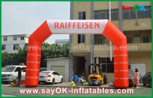 China Oxford Cloth Inflatable Arch Gate Entrance With Logo Print For Event on sale