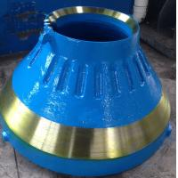 Cast Iron Metso / Minyu Crusher Parts , Cone Crusher Liners Corrosion Resistence