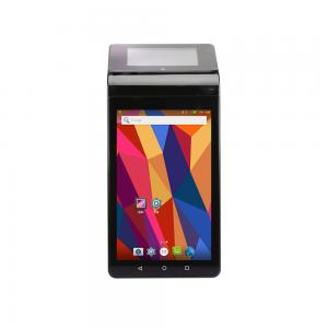 China Point Of Sale Dual Screen Pos Terminal 7 Inch + 3.5 Inch With 58mm Printer on sale