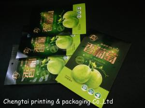 China Pantone Glossy Surface Dry Fruit Packaging Bags With Semi - Aluminum Material on sale