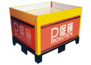 China Supermarket Promotional Tables Promotional Display Counter Portable For Advertising on sale