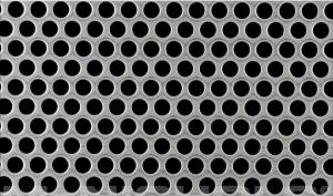 China Hot Dipped Low Carbon Steel Wire Galvanized Round Perforated Metal Sheet 28 on sale