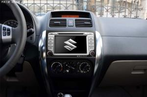 China SUZUKI SX4 Car Stereo Auto Radio DVD GPS With MP3 Player, A2DP, 533MHZ SUZ-706GD on sale