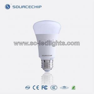 China E27 7w led bulb plastic housing led bulb lamp on sale