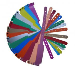 China 13.56 Mhz Smart Plastic Hospital Bracelets on sale