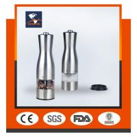 China HIGH QUALITY stainless steel electric pepper mill GK-07/stainless steel pepper mill on sale
