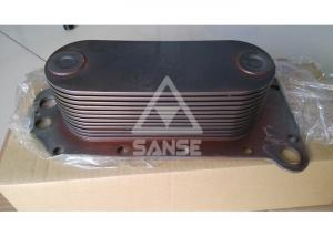 China Mitsubishi 6D114 Engine Oil Cooler Core , Komatsu PC360-7 Excavator Engine Parts on sale