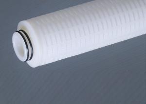 China All Teflon PTFE Membrane / PVDF Hardware Cartridge Filter Housing For Aggressive Liquid Solution Filtration on sale