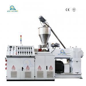 China SJZ-80/156 Conical Twin Screw Extruder  Plastic Extruder Machine  Twin Screw Extruder on sale