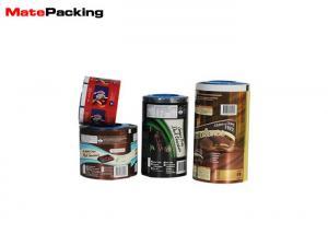 China Custom Logo Soft Food Packing Film Wrapping Sealing Laminated BOPP Aluminum Foil on sale