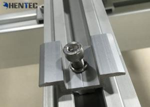 China Mid Clamp Solar Roof Mounting Kits Custom Aluminum Extrusions With Cutting / Drilling on sale