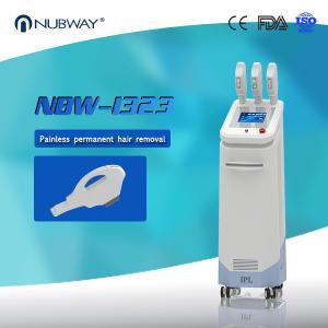 Quality O laser 3 do preço de fábrica segura a pele da remoção do cabelo do IPL que for sale