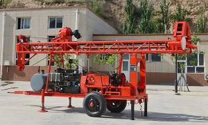 China DSG-2 Trailer Mounted water well drill rig on sale