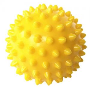 China Custom Colorful Massage Ball 9.5cm Home Fitness PVC Spiky Point Massage Relax Ball on sale