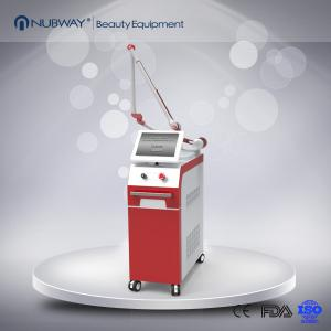 China Nubway Q switched Nd YAG Laser for Pigment removal Tattoo Removal machine on sale