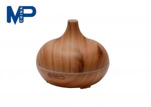 China Spraying Wood Grain Greenair Essential Oil Diffuser 7 Colors Changing on sale