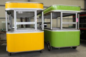 China Convenient Electric Food Truck Non Toxic Eco - Friendly Paint Treatment on sale