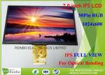 FPC 50 Pin RGB Interface IPS LCD Display Thin Thickness 7.0 Inch 1024 x 600