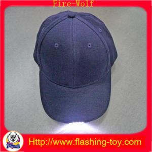 China 100% Cotton Customized promotional Gift LED Flashing Cap, Hats HL-B5122 on sale