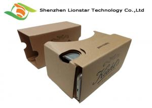 China Eco - Friendly Cardboard Virtual Viewer?, Google Cardboard Virtual Reality 3d Glasses? on sale