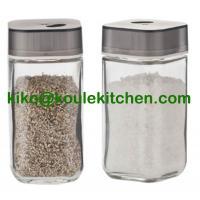 100ml glass bottle salt and pepper shaker set