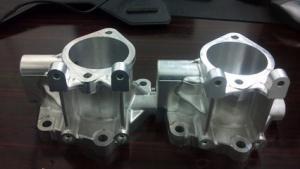 China Customized Aluminum Machined Parts / Cnc Turning Parts , High Rigidity on sale