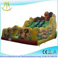 China Hansel Customized Inflatable Amusement Slide ,Inflatable Slides For Kids Bouncer Toy on sale