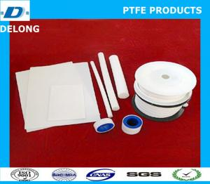 China ptfe sheet,rod, film, tape, packing products on sale