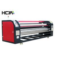 Multifunction Rotary Heat Press Machine For Lager Bed Sheets High Definition