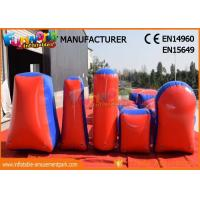 Commercial Inflatable Paintball Bunkers / Adult Inflatable Nerf Arena