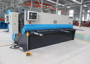 China Durable Metal Cutter Hydraulic Shearing Machine With Germany ELGO P40 NC Control System on sale