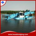 Head Dredging Best Quality Automatic Aquatic Weed Cutting Harvester for Sale