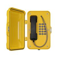 Moisture Resistant Voice Over IP PhoneWall / Pillar Mounting For Heavy Duty Industry